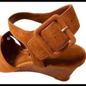 Nine West Shoes - 🖤 NEW Nine West Open Toe Sandals Size 8 Brown